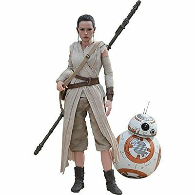 Hot Toys Movie Masterpiece Star Wars The Force Awakens Rey & BB-8 Action Figure