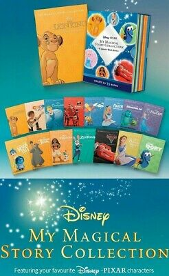 Disney Pixar My Magical Story Collection 15 Books Set + Case Daily Telegraph