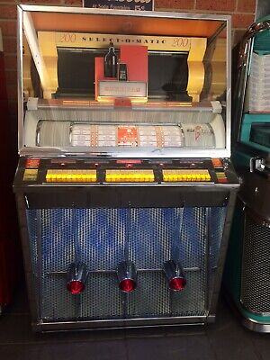 Jukebox 1957 Seeburg Kd200 Fully Restored Juke
