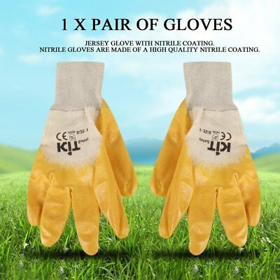 Nitrile Gloves with Nitrile Coating Wear Resistant Anti-oil Working GlovesCS