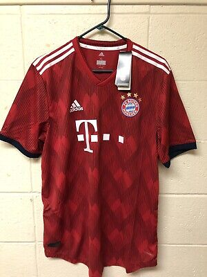 newest 1def2 e2460 FC BAYERN MUNICH Authentic Home Jersey 2018/19