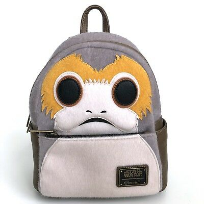 ThinkGeek Star Wars The Last Jedi Porg Mini Backpack Loungefly SDCC 2018 Limited
