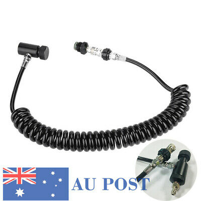New Design Paintball Remote Hose Line With Quick Disconnect&Slide Check Black