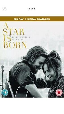 A Star is Born  [2018] (Blu-ray) Bradley Cooper, Lady Gaga, Andrew Dice Clay