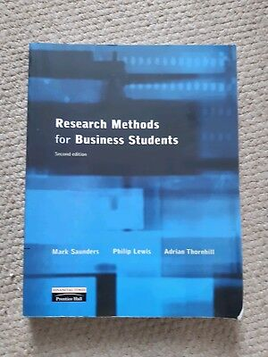 Research Methods for Business Students by Mark Saunders, Philip Lewis, Adrian Th
