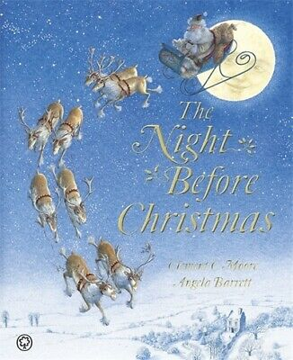 The night before Christmas by Clement C Moore (Paperback) FREE Shipping, Save £s