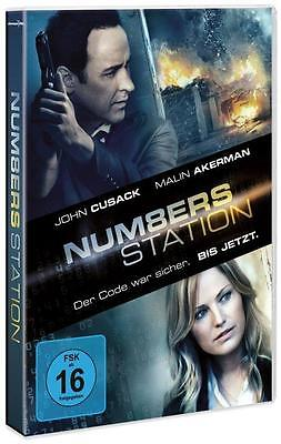 Numbers Station (2014) ***blu ray*** John Cusack