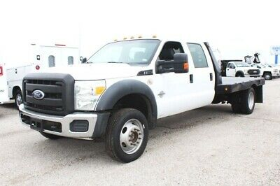 2011 F-550 4WD XL Crew Cab 2011 Ford Super Duty F-550 DRW, Oxford White - White with 96,291 Miles available