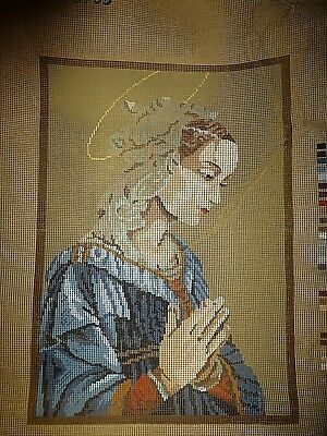 Vintage Tapestry Canvas - Virgin Mary 78/105
