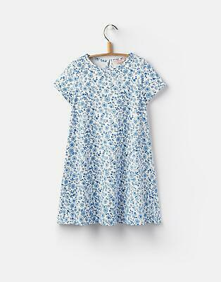Joules Girls Emeline Woven Dress in Shelby Gingham Pink