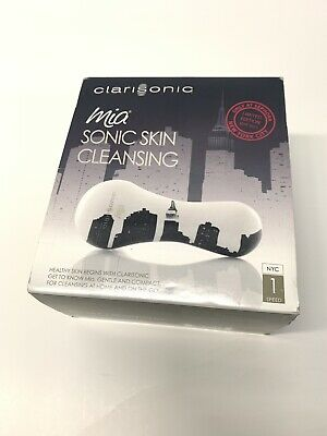 NEW NIB CLARISONIC Mia Sonic Skin Cleansing Sephora Limited Edition NYC May 2011