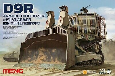 Meng Model Kits SS10 1:35 D9R Armored Bulldozer with Slat Armor
