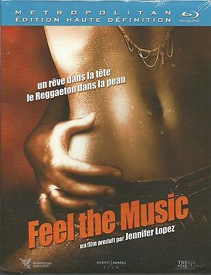 Blu Ray //  FEEL THE MUSIC  // Film produit par Jennifer Lopez / NEUF cellophané
