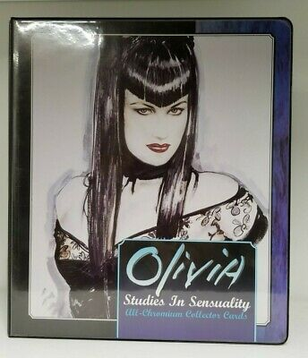 Olivia Studies In Sensuality Collectible Trading Card Binder Album