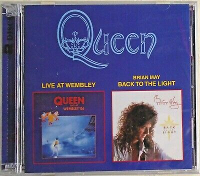 QUEEN - CD - Live At Wembley/Brian May-Back To The Light - 2 DISCS-BRAND NEW