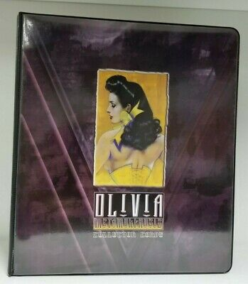Olivia Metamorphosis Collectible Trading Card Binder Album