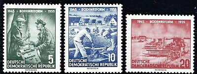Germany- Ddr 1955 Land Reform - Full Set - Mnh** 👇