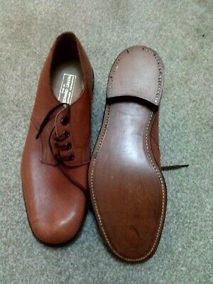 Edward Green Mens Tan Shoes New Leather Soles Size 8