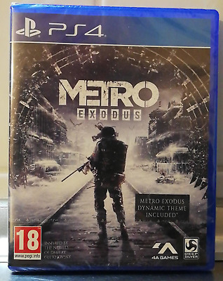Metro Exodus Day One Edition PS4 Neu OVP In Folie Playstation