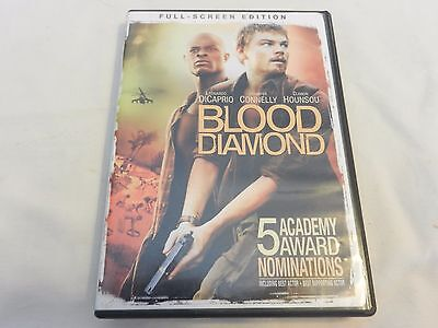 Blood Diamond Full Screen Edition DVD DiCaprio, Connelly, Hounsou