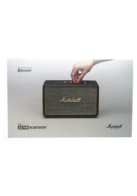 New Marshall Acton Wireless Bluetooth AUX  Compact Speaker Black In Retail