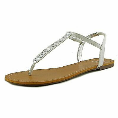 820b1de2506e MATERIAL GIRL WOMENS MSAGE Split Toe Casual T-Strap Sandals