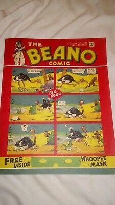 the beano comic, issue 1, 1993 anniversary reprint