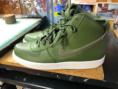 official photos 10eaa 61f1b Nike Vandal High Supreme LTR Leather Legion Green Size US 13 Men AH8518 300  New