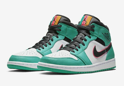 318376bb706629 Nike Air Jordan 1 Mid SE South Beach Green Pink 852542 306 Size Multiple