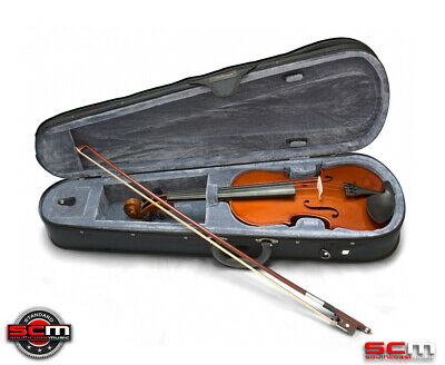Valencia SV113 3/4 Size Violin Outfit with Case, Bow & Rosin STANDARD SETUP