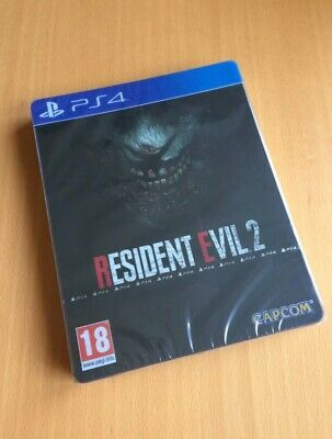 Resident Evil 2 Remake Steelbook Edition PS4 *BRAND NEW & SEALED* *REGION FREE*