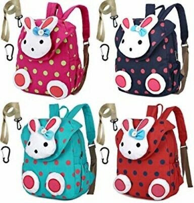 Toddler Kid Backpack with Safety Harness Leash Rabbit Bunny Boy Girl Under  3 Age 523ecfabcaf41