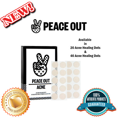 PEACE OUT Acne Healing Dots, Authentic, Available in 40 and 20 Acne Healing Dots