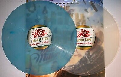 Mac Miller, The High Life 180 Gram Transparent/light Blue Colored Vinyl 2Lp, New
