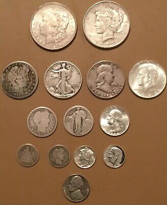 US silver coins starter collection, historic money, Investment, $5.20 face value