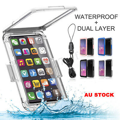 Waterproof Shockproof Dirt-Proof Case Full Cover For Samsung Galaxy S10/S10 Plus
