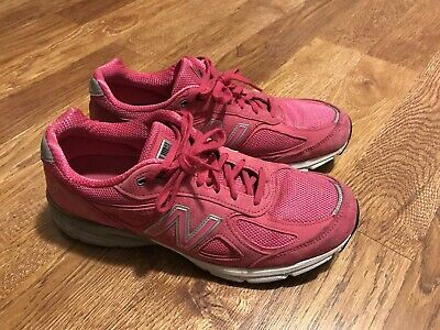 New Balance 990 W990KM4 Komen Pink Ribbon Women s Sz 12 B USA Running Shoes fa9dc9474ccc