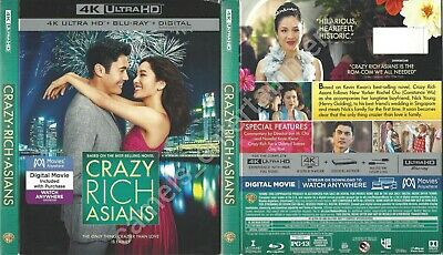 Crazy Rich Asians (4K Ultra HD [UHD] Blu-ray SLIPCOVER ONLY * SLIPCOVER ONLY)