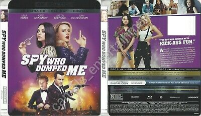 The Spy Who Dumped Me (4K Ultra HD SLIPCOVER ONLY * no movie included)