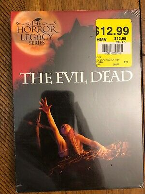 The Evil Dead (DVD, 2006) NEW! Free Shipping in Canada! The Horror Legacy Series