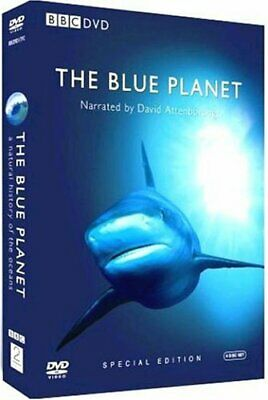 The Blue Planet - Complete BBC Series [DVD] By David Attenborough.