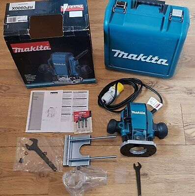 New Makita Router Rp0900 110V 1/4Inch Router Bits Spanner Hand Tools Power Tools