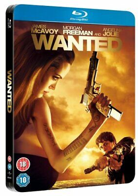 Wanted Limited Edition Steel Book [Blu-ray] By Angelina Jolie,James McAvoy.