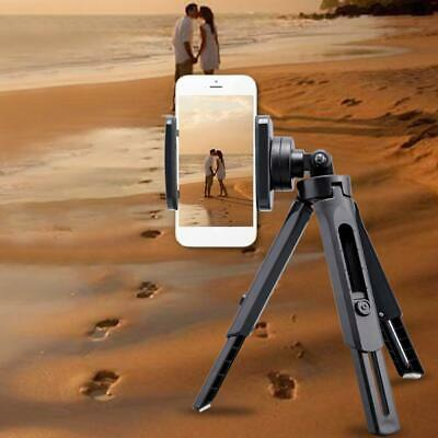 Telescopic Smartphone Video Tripod Stand with Phone Clip Holder Mount For Phones