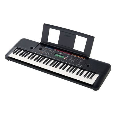 Yamaha PSRE263 61 Key Digital Electronic Keyboard & Adaptor 3 Year Warranty