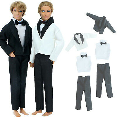 Random 1 Set Outfit Jacket Trousers Coats Daily Clothes For 12 in. Ken Doll Cool
