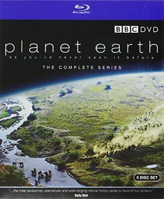 Planet Earth: Complete BBC Series [Blu-ray] By David Attenborough.