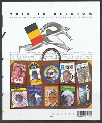 [Farde010] Belgium 2004 This is Belgium sheet very fine MNH. face value 5.70 €