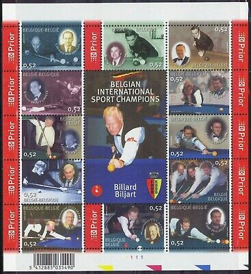 [Farde012] Belgium 2006 SPORTS good sheet very fine MNH