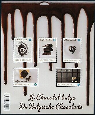 [Farde030] Belgium 2013 BELGIAN CHOCOLATE Good sheet very fine MNH